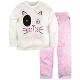 Комплекты и пижамы для девочек 2-8 лет со скидкой