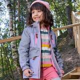 Мембранные парки и пальто Oldos Active для девочек